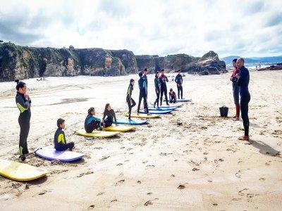 Surf camp, Lugo, 6 days