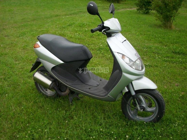 125 cc Peugeot