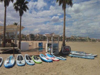 Alquiler material de Paddle Surf en Alicante 2 h