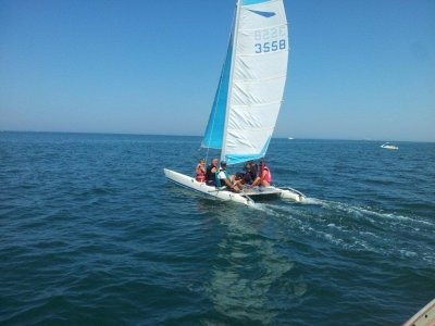 Escursione in catamarano a Piedra Salmedina 90 min