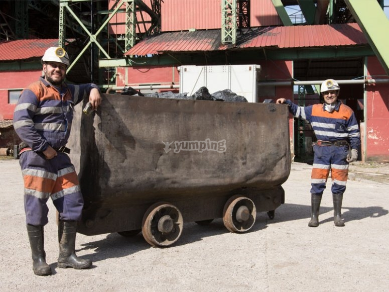 tren minero Asturias