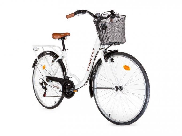 Bici de paseo con cesta