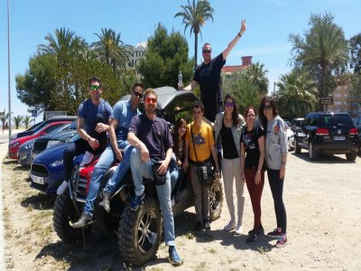 Stag/hen party - multi-adventure in Denia 4h