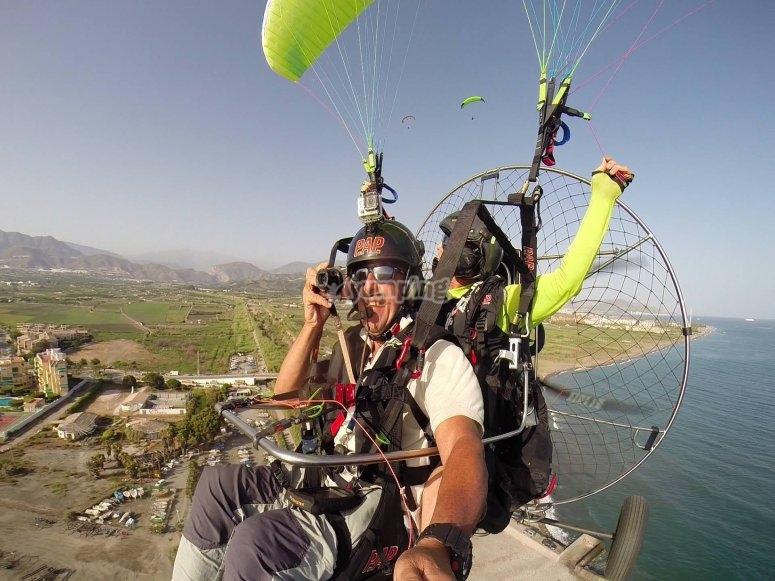 Having fun in the heights!