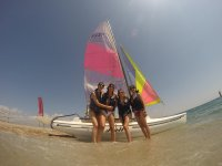 Surfing in Roquetas de Mar with pics