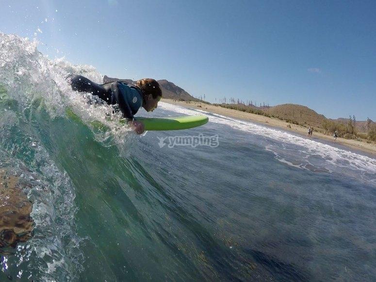 Cogeras impresionantes olas