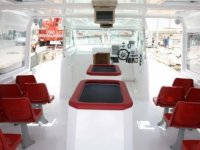 Boat s interior for excursions