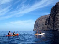 Sea kayaking excursions