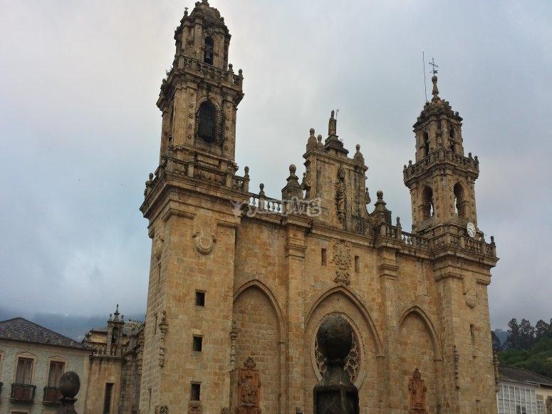 Preciosa catedral de Mondoñedo