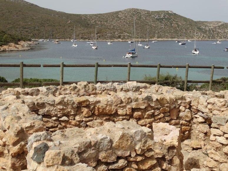Paisajes del mar en Mallorca