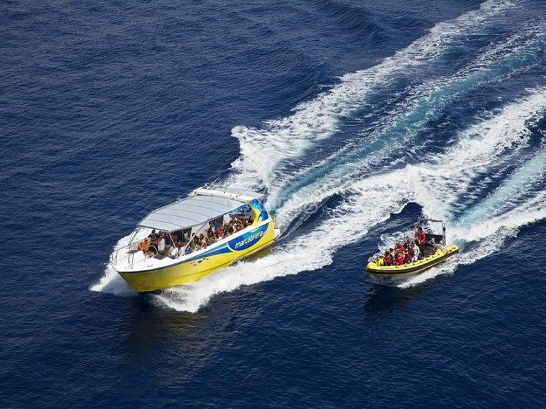 Transporte en barco incluido