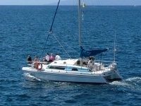 Catamaran for 20 people