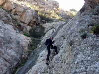 Rappelling in Ibiza