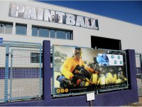 Fachada del centro de Paintball