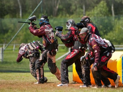 Paintball match 100 free ball Huesca