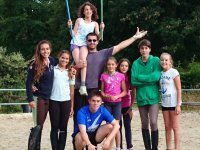 Campamento para colegios en Santibañez