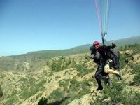 Paragliding flights