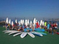 Alumnos de nuestra escuela de surf