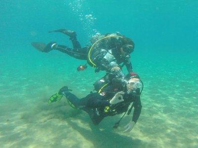 Bautismo de buceo en el mar en Lanzarote 2 horas