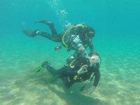 在兰萨罗特岛的海上潜水2小时