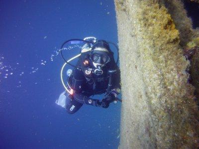 在兰萨罗特岛潜水4小时