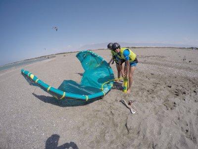 Corso di iniziazione di kitesurf per coppie Almería