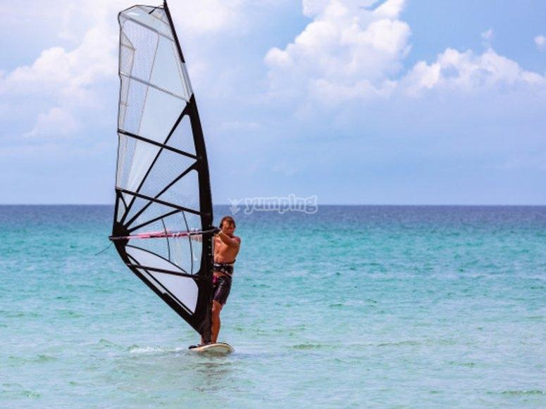 Windsurf en Roquetas de Mar