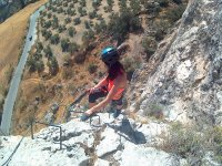 Vía Ferrata de Moclín en Granada 4 horas
