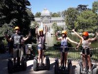Al Palacio de Cristal con i segway