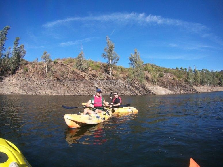 Equipacion completa de kayak