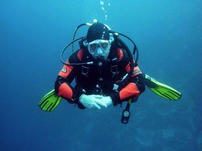 Buceador de rescate curso PADI en Lanzarote