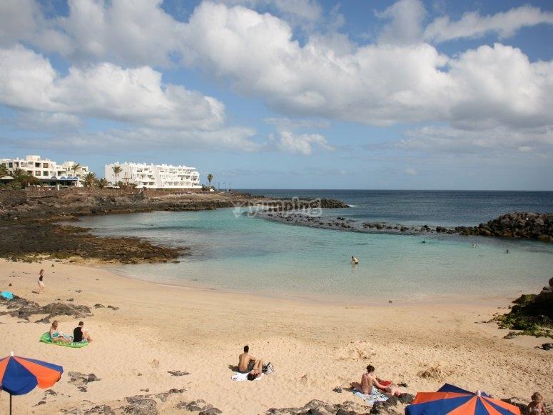 Buceo en playas de Costa Teguise