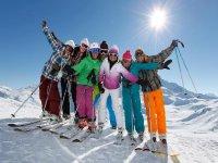 内华达山脉滑雪