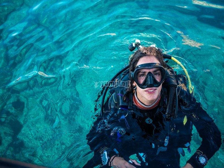 成为潜水专家