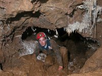 Practicing caving