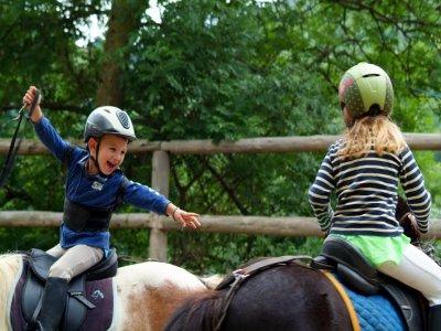 Bono de 10 clases a caballo en pista Molins de Rei