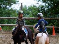 Paseo en pony en Molins de Rei 15 minutos