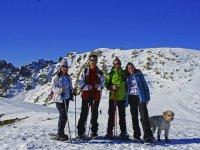 Excursión raquetas de nieve en la Sierra de Gredos