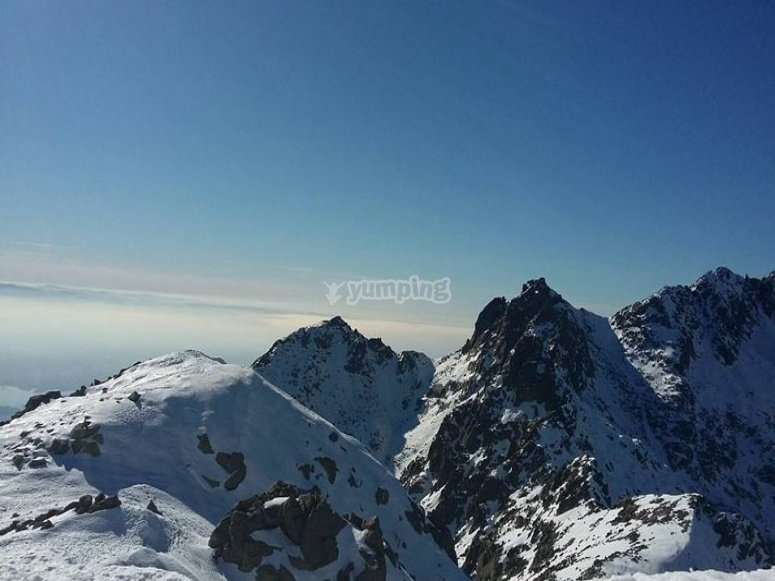 Vistas de la montaña