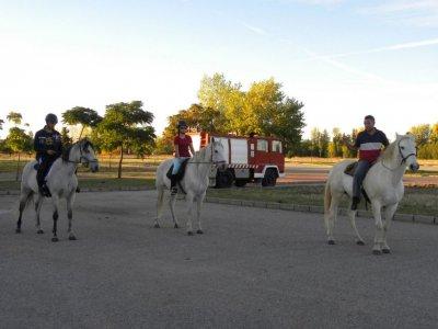 Passeggiata a cavallo di 2 ore a Guadalajara