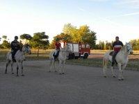 Excursion a caballo en Guadalajara