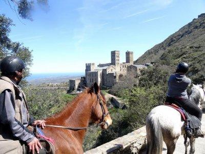 Ruta a caballo por Camprodón 2 horas