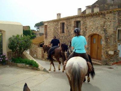 Equitazione alte vette dei Pirenei
