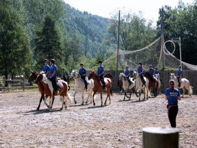 Lezione equestre a Campodrón 1h a tutti i livelli