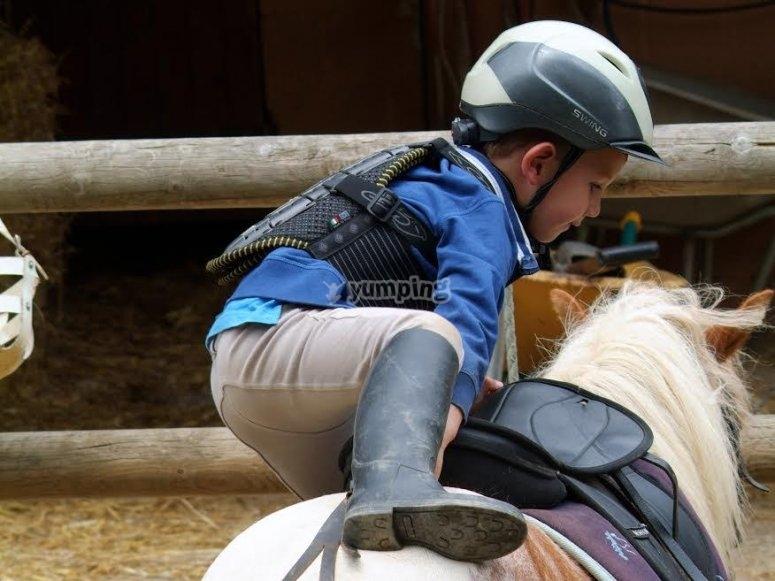 Autonomia per cavalcare un pony