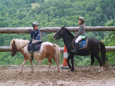 Ruta en Pony en Abella durante 30 minutos