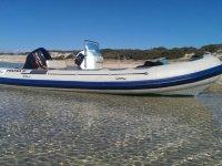2-Hour Motor Boat Rental in Chipiona