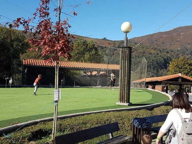 Campo de mini golf
