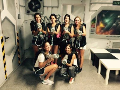 3 Laser Tag Matches at Barcelona Voucher
