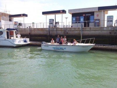 Alquiler barco en Chipiona para 7 personas 4 horas